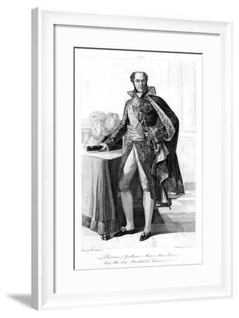 Guillaume Marie Anne Brune, Marshal of France, 1839- Contenau-Framed Giclee Print