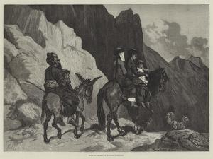 Going to Market in Eastern Turkestan by Guillaume Regamey