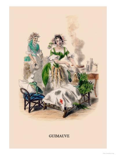 Guimauve-J^J^ Grandville-Art Print