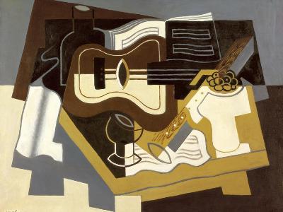 Guitar and Clarinet, 1920-Juan Gris-Giclee Print