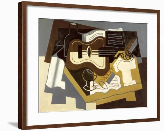 Guitar and Clarinet, 1920-Juan Gris-Framed Giclee Print