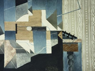 Guitar on Table-Juan Gris-Giclee Print