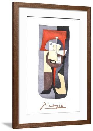Guitare et Partition-Pablo Picasso-Framed Collectable Print