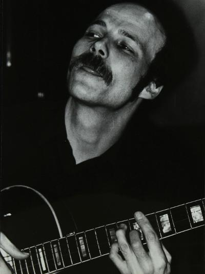 Guitarist John Coverdale Playing at the Bell, Codicote, Hertfordshire, January 1984-Denis Williams-Photographic Print