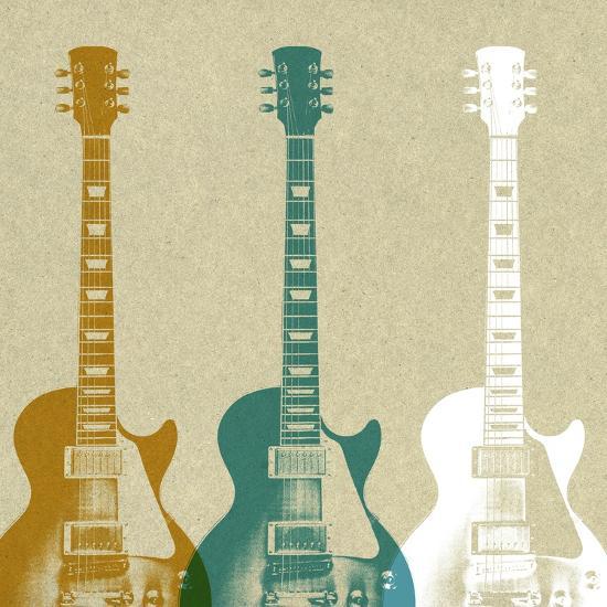 Guitars 3-Stella Bradley-Premium Giclee Print