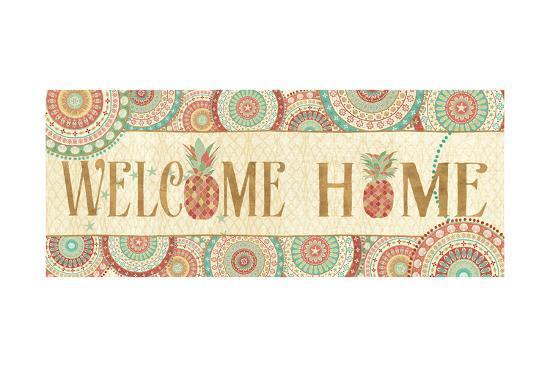 Gulf Stream Welcome Home-Veronique Charron-Art Print