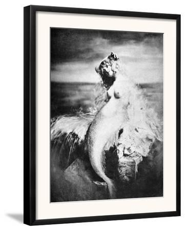 Nude As Mermaid, 1898