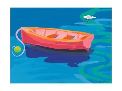 Gull and Boat, 2009-Sarah Gillard-Giclee Print