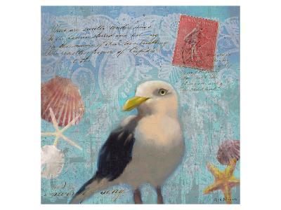 Gull Beach I-Rick Novak-Art Print