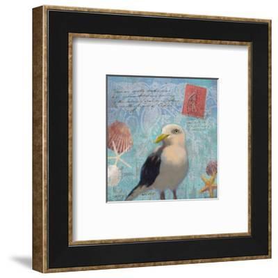 Gull Beach I-Rick Novak-Framed Art Print