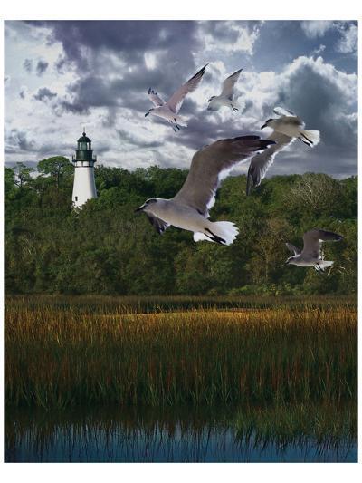 Gullage Light II-Steve Hunziker-Art Print