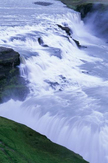 Gullfoss Waterfall in Iceland-Paul Souders-Photographic Print