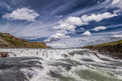 Gullfoss Waterfalls, Iceland--Photographic Print
