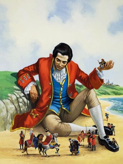 Gulliver's Travels-Nadir Quinto-Giclee Print