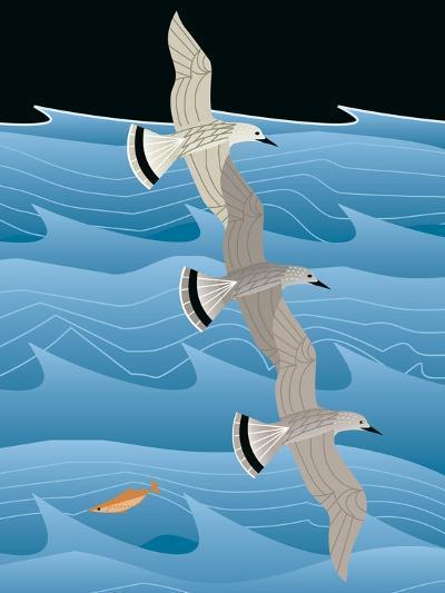 Gulls-Marie Sansone-Giclee Print