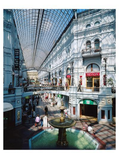 GUM Department Store in Moscow, Russia--Art Print