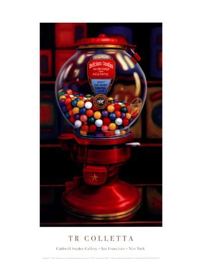 Gumball Machine IV-TR Colletta-Art Print