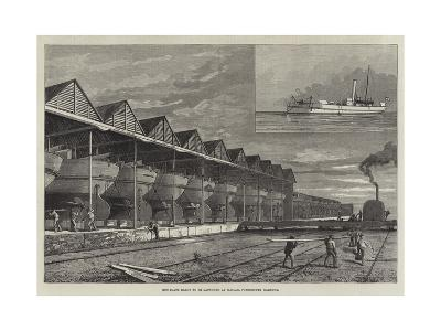 Gun-Boats Ready to Be Launched at Haslar, Portsmouth Harbour--Giclee Print