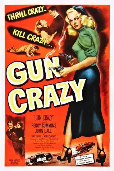 Gun Crazy--Art Print