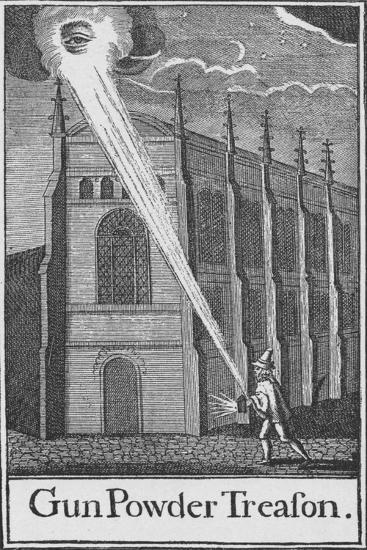 'Gun Powder Treason', c1605 (1903)-Unknown-Giclee Print