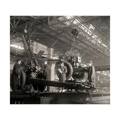 Gun Production in Wartime, USSR, World War II, C1941-C1943--Giclee Print