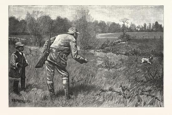 Gun Shy Drawn A. B. Frost, 1880, USA--Giclee Print