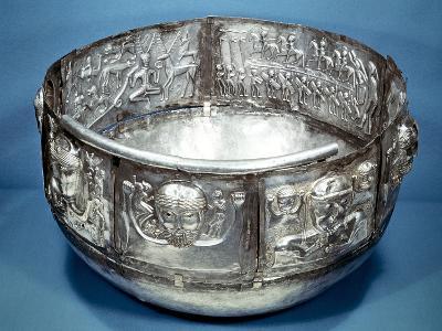 Gundestrup Cauldron, Celtic Ritual Vessel, 2nd Century Bc--Photographic Print