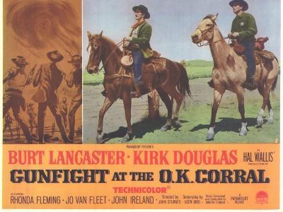 Gunfight at the O.K. Corral, 1963--Art Print