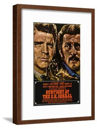 Gunfight at the O.K. Corral, German Poster Art, 1957