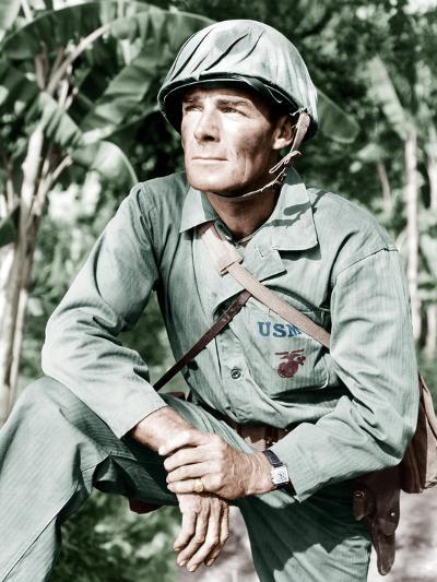 GUNG HO!, Randolph Scott, 1943--Photo