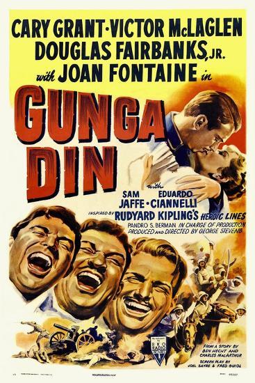 Gunga Din, 1939--Giclee Print