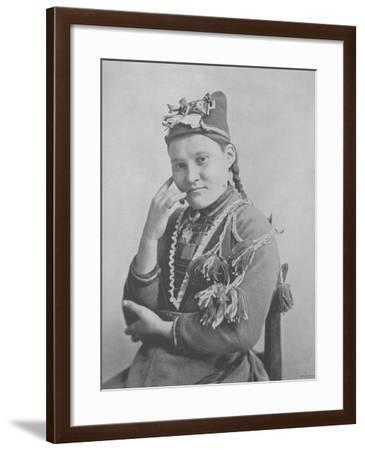 Gunild Blodoxe--Framed Photographic Print