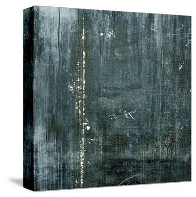 Gunmetal I-J^ McKenzie-Stretched Canvas Print