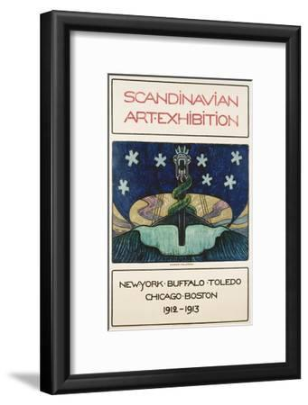 Scandinavian Art Exhibition: 1912-1913 Poster