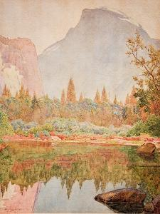 Half Dome, Yosemite, 1926 by Gunnar Widforss
