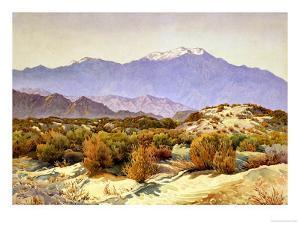 San Jacinto by Gunnar Widforss