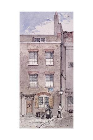 Gunpowder Alley, London, C1850-James Findlay-Giclee Print