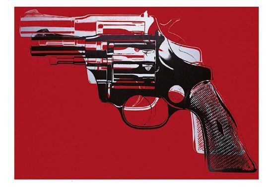 Guns, c.1981-82-Andy Warhol-Art Print