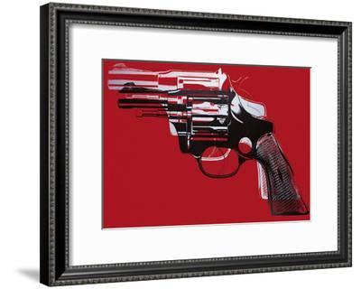 Guns, c.1981-82-Andy Warhol-Framed Art Print