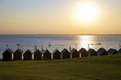 Gurnard Beach, Gurnard, Isle of Wight, England, United Kingdom, Europe-Neil Farrin-Photographic Print
