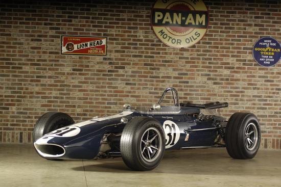Gurney Eagle racing car 1966-Simon Clay-Photographic Print