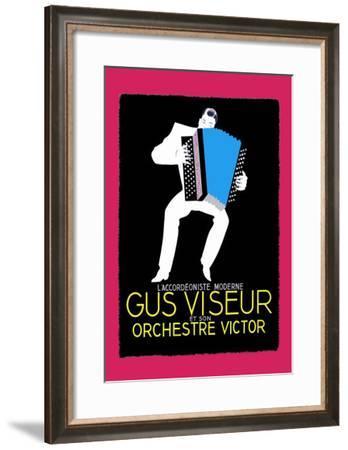Gus Viseur--Framed Art Print