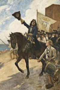 Magnus Stenbock in the Battle of Helsingborg by Gustaf Cederström