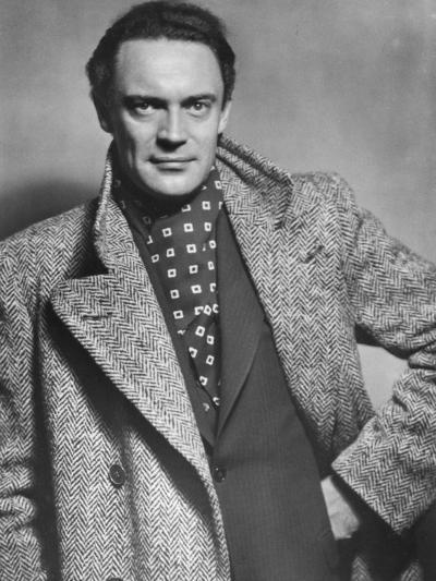 Gustav Diessl, Austrian Artist, and Film and Stage Actor, 20th Century- Sandau-Photographic Print