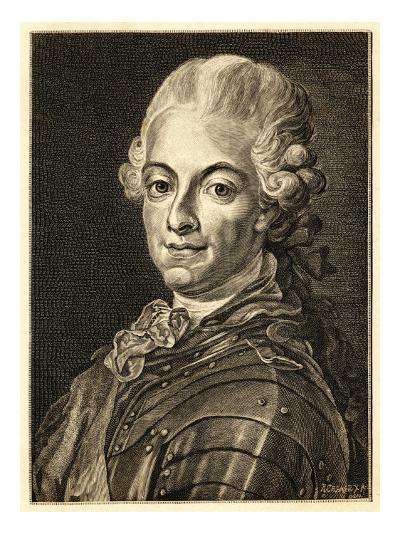 Gustav III King of Sweden (Reigned 1771-92)--Giclee Print