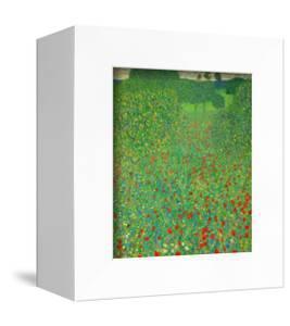 A Field of Poppies, 1907 by Gustav Klimt