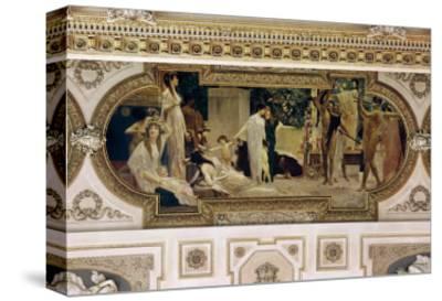 A Greek Travelling Theatre (Il Carro Di Thespis), Ceiling Fresco, 1884-1887