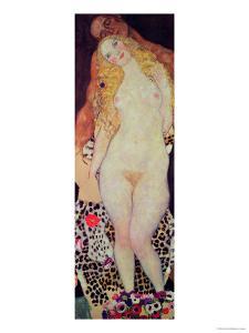 Adam and Eve, 1917-18 by Gustav Klimt