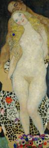 Adam and Eve, 1917 by Gustav Klimt