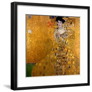 Adele Bloch-Bauer I, 1907 by Gustav Klimt